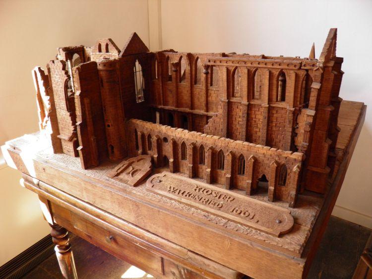 Modell des Walkenrieder Klosters von Gustav Adolf Spengler