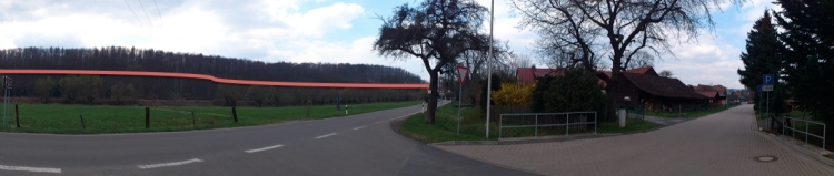 Röseberg mit Sichtlinie