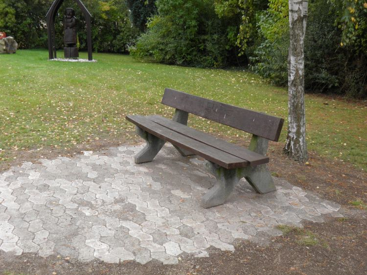 Sitzbank am Henricus