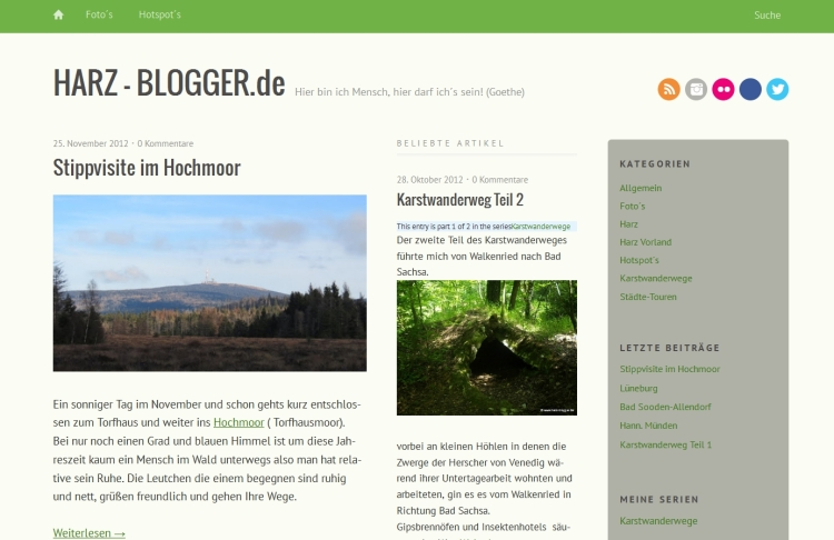 Harz-Blogger