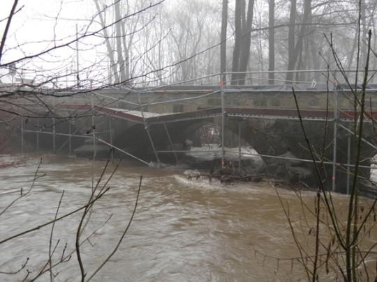 Hochwasser an der Wieda