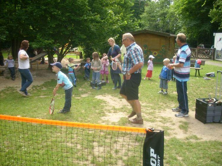 Hortkinderturnier 2012 des Tennisclubs Walkenried