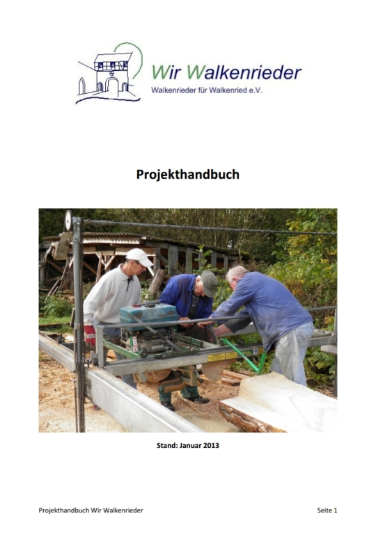 Projekthandbuch