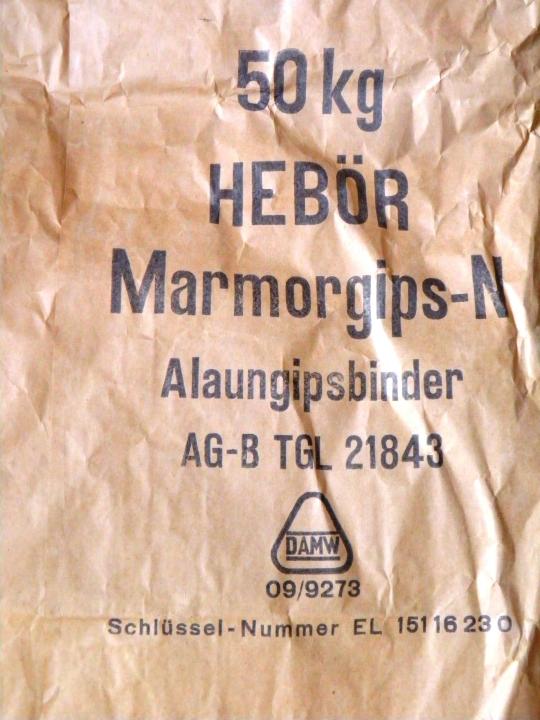 Marmorgipssack
