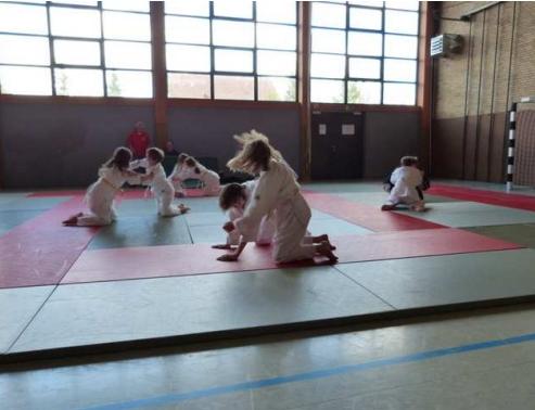 Judo-Gruppe