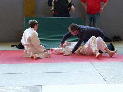 Judo-Hilfestellung