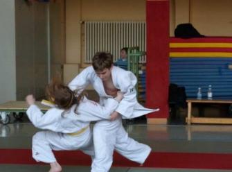 Judo-Spannung