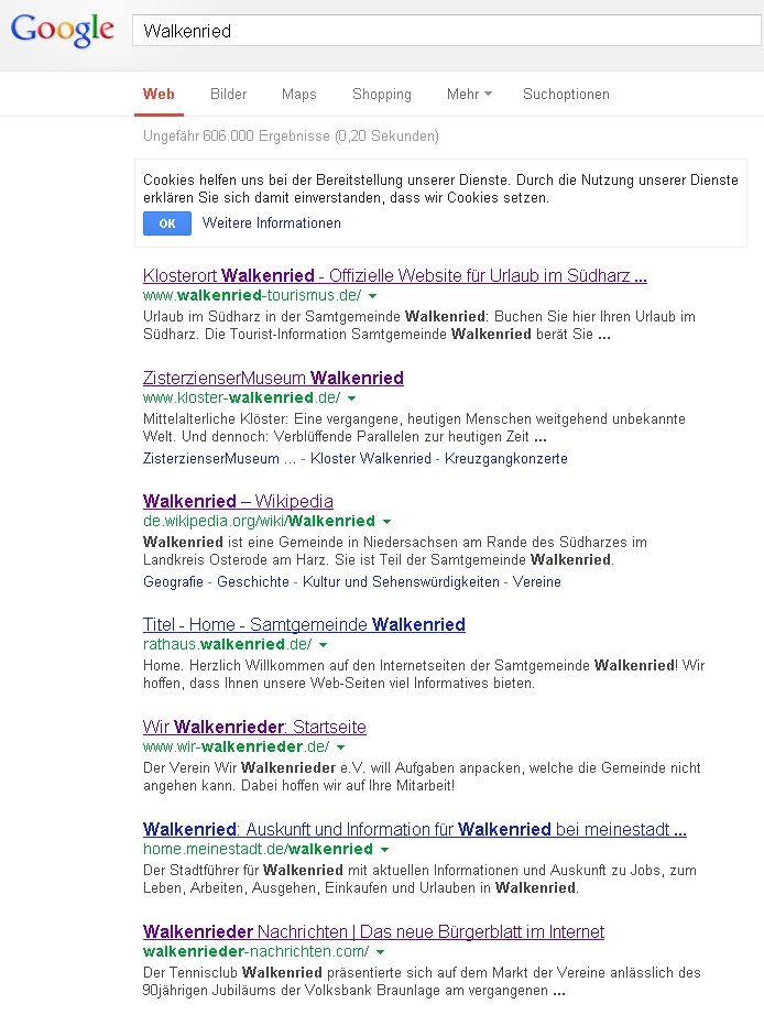 Walkenrieder Nachrichten
