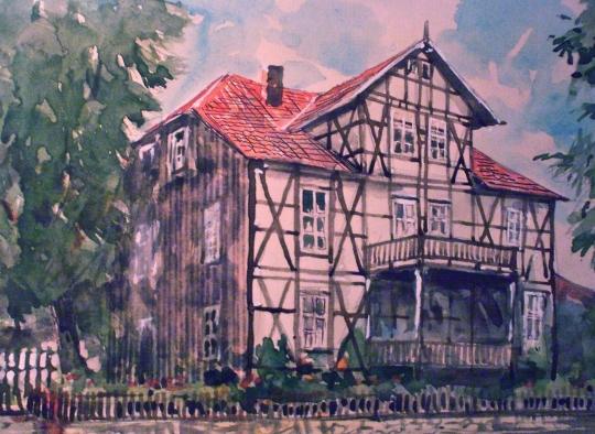 Das Kapitänshaus in Walkenried