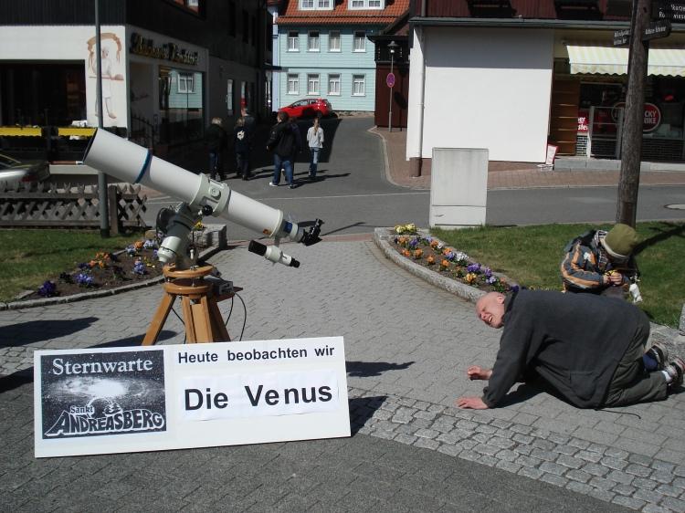 Venusbeobachtung