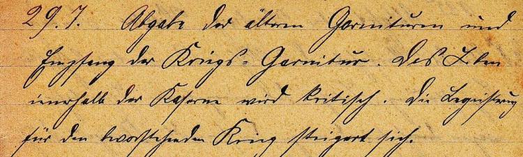 Tagebuchzeilen