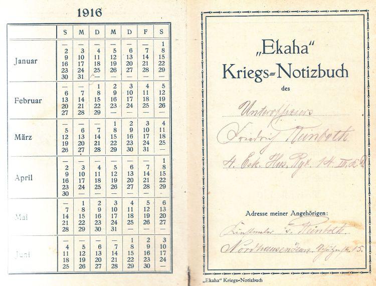 Ekaha-Notizbuch