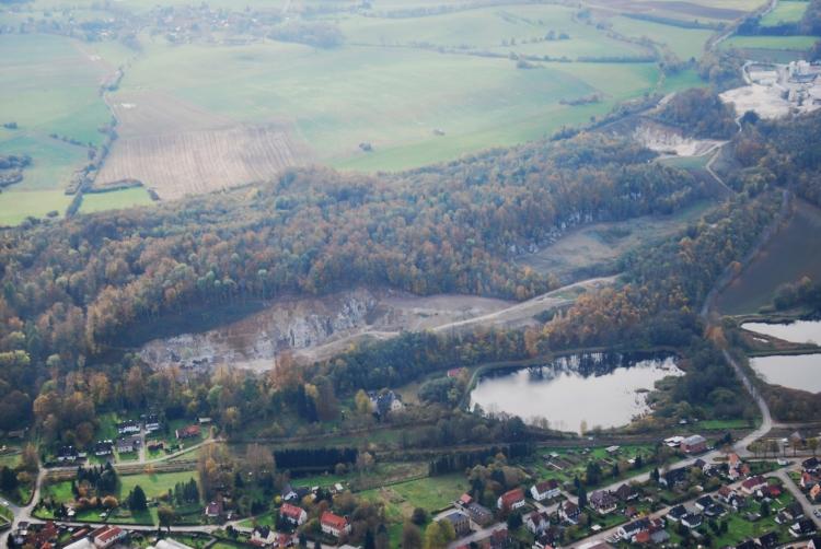 Röseberg-Steinbruchkante