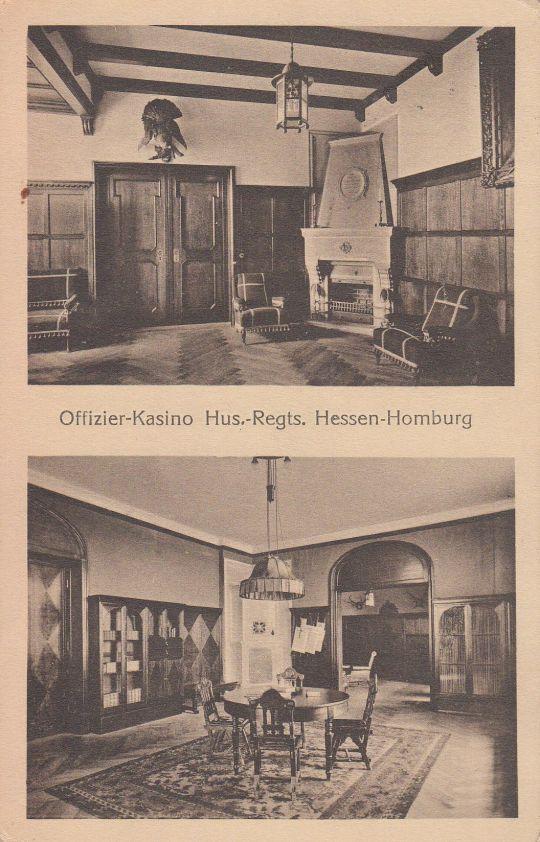 Postkarte Offizierskasino