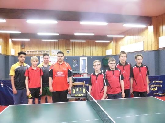 Tischtennisabschluss