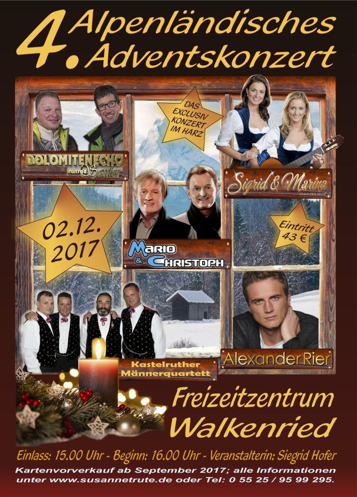 4. Alpenländisches Adventskonzert