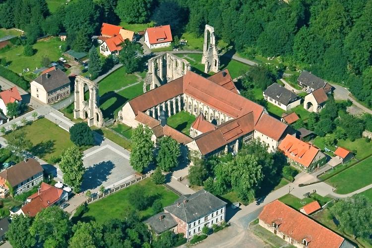 Luftbild Kloster Walkenried