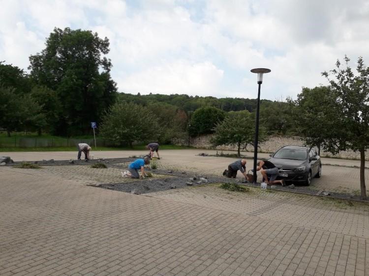 Klosterparkplatz