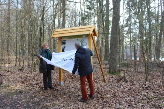 Christel Wemheuer und Dr. Klaus George