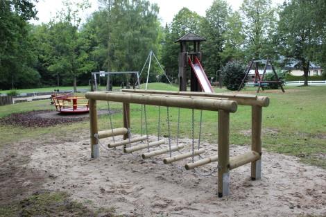 Neue Geräte bereichern den Geiersberg-Spielplatz