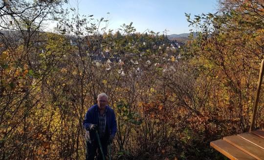 Arbeiten am Kupferberg