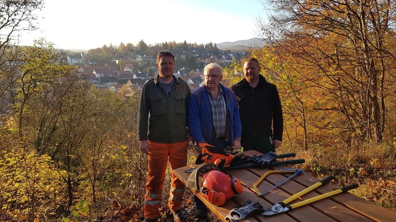 Vereinsmitglieder am Kupferberg